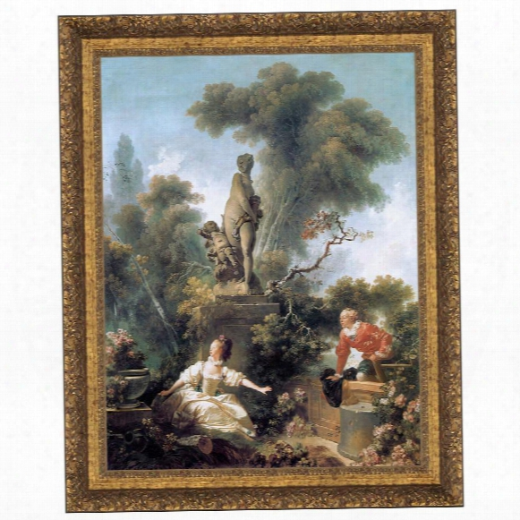 The Meeting, 1772: Canvas Replica Paniting: Grande