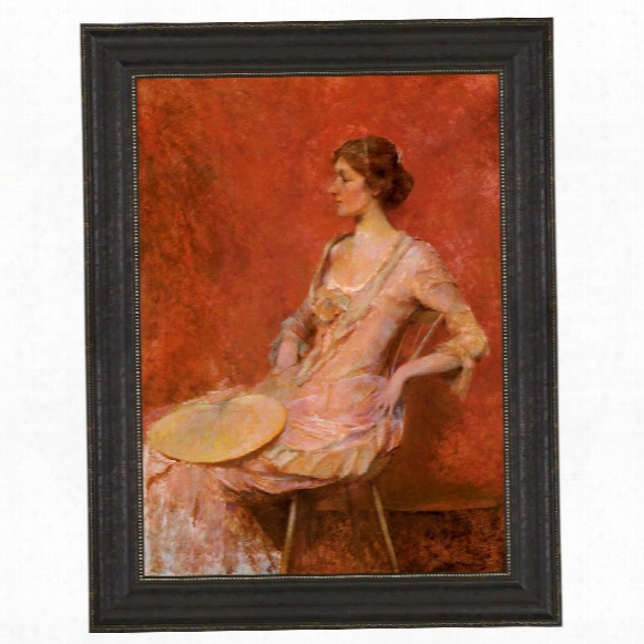 The Palm Leaf Fan, 1906 Canvas Replica Painting: Grande