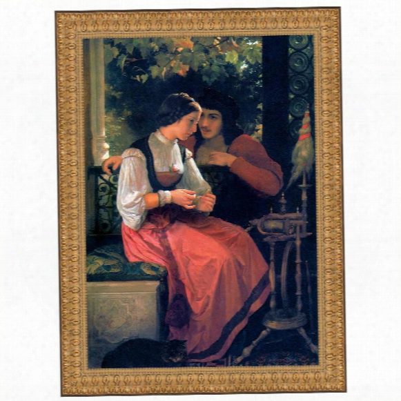 The Proposal, 1872: Canvas Replica Painting: Grande