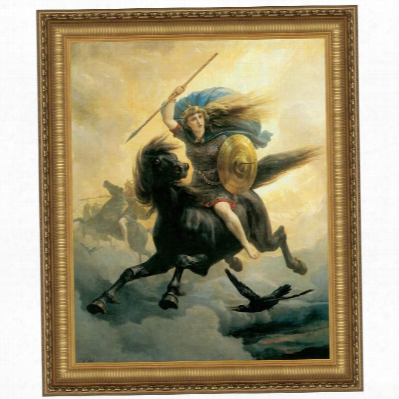 Valkyrie, 1865, Canvas Replica Painting: Grande