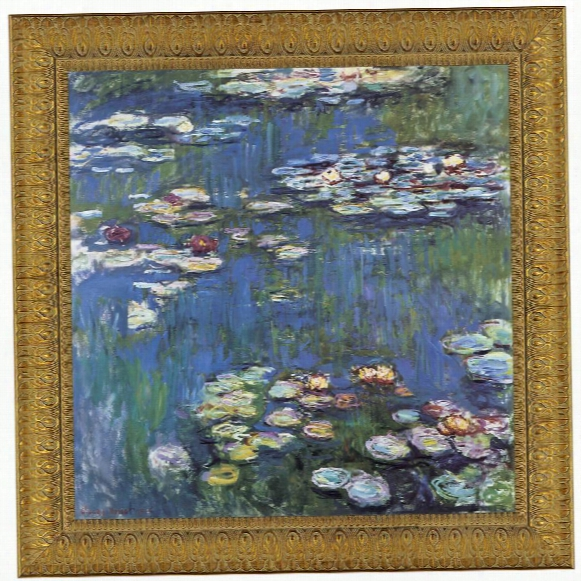 Waterlillies, 1914 Canvas Replica Painting: Grande