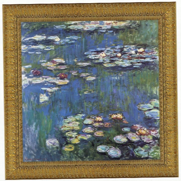Waetrlillies, 1914 Canvas Replica Painting: Small
