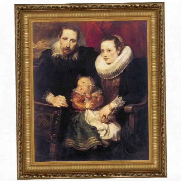 Wildens Family Portrait, 1621, Canvas Replica Painting: Grande