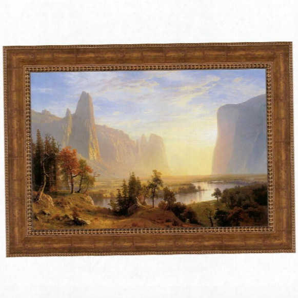 Yosemite Valley, 1868 Canvas Replica Painting: Grande
