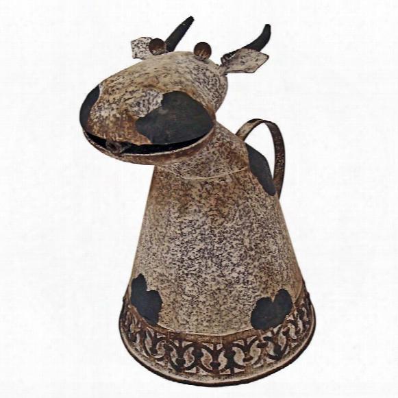 Animal Aquifers Metal Cow Watering Can