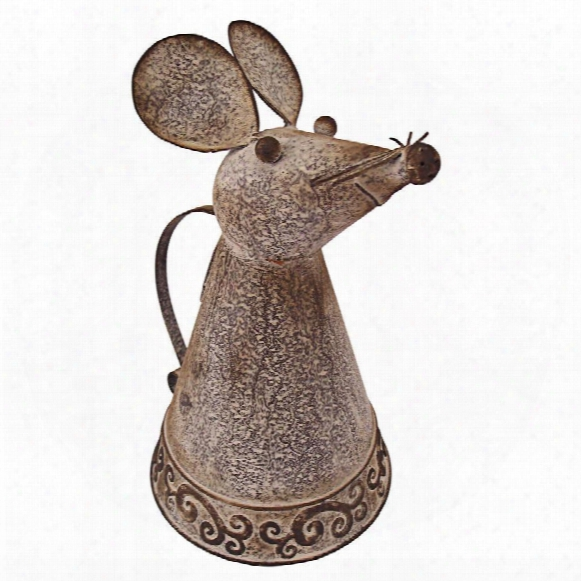 Animal Aquifers Metal Mouse Watering Can