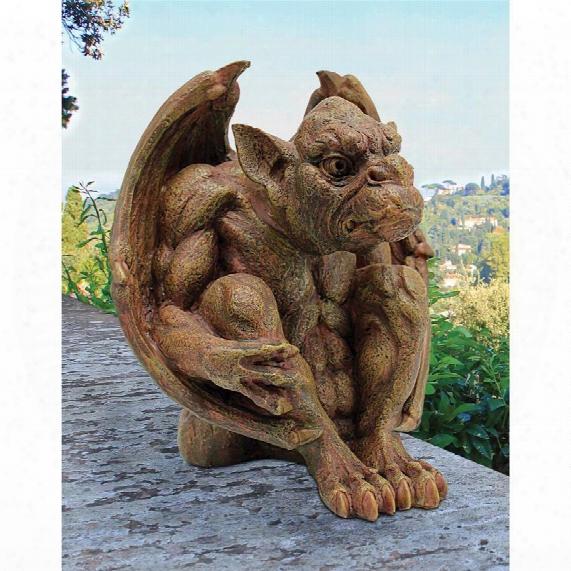 Balthazar's Watch Gargoyle Sculpture