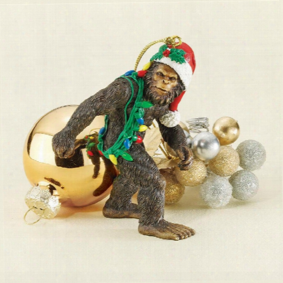 Bigfoot, The Yeti Holiday Ornament
