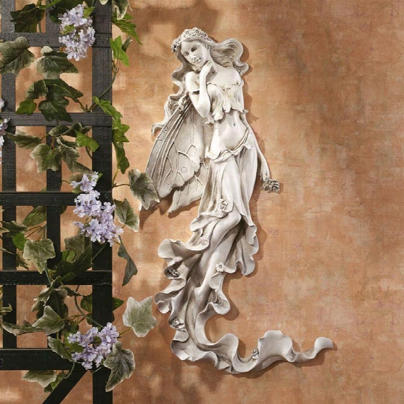 Brianna The Summer Breeze Fairy Wall Sculpture