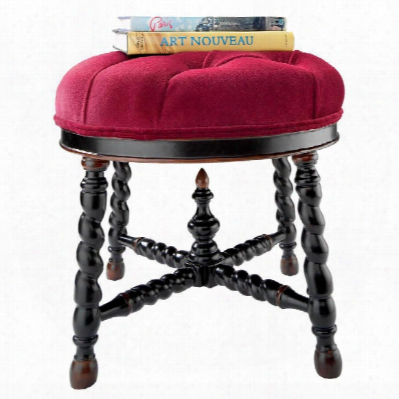 Brittany Round Tufted Ottoman