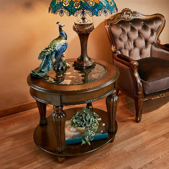 Casa Grande Glass-topped Table