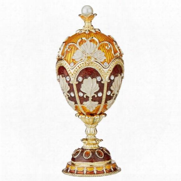 Constantine Faberge-style Enameled Egg