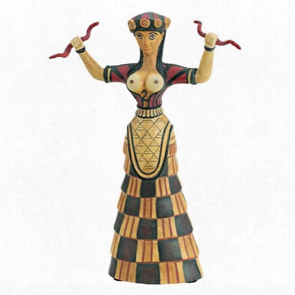 Cretan Snake Goddess Statue