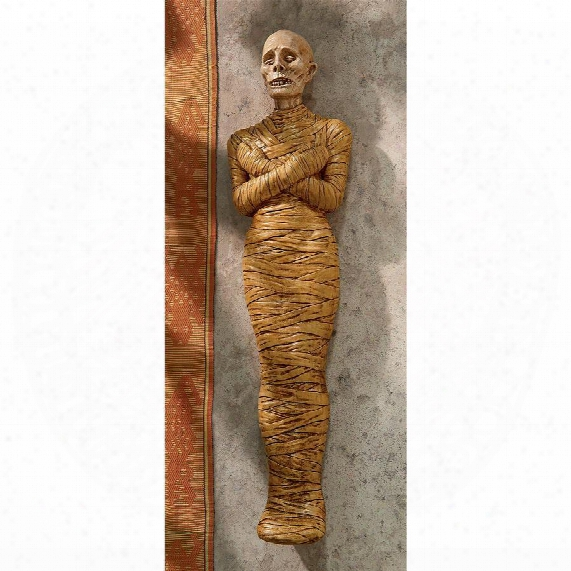 "Curse Of The Mummy"" Wall Sculpture"