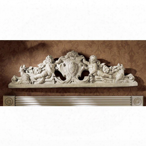 Devonshire Sculptural Wall Pediment