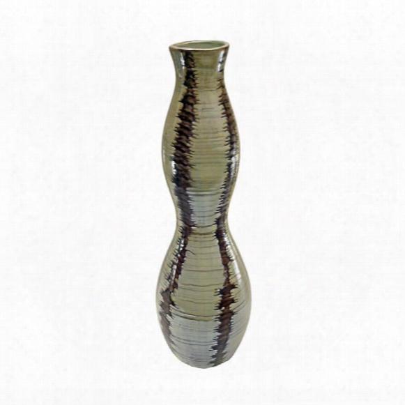 """Donoma 21""""hand-crafted Ceramic Vase"""