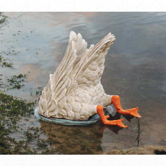 Duck, Duck, Goose Diving Bird Statue