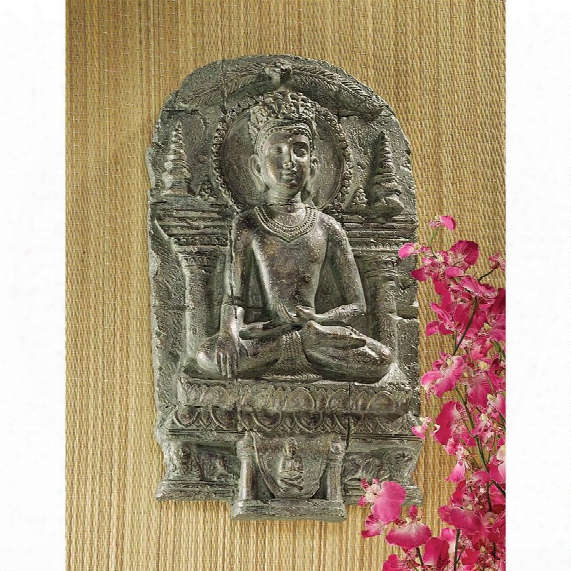 Earth Witness Buddha Wall Sculpture