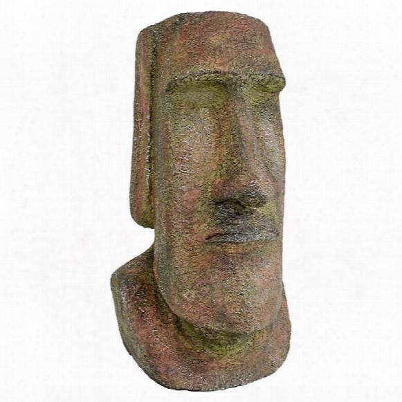 Easter Island Ahu Akivi Moai Monolith Statue: Medium