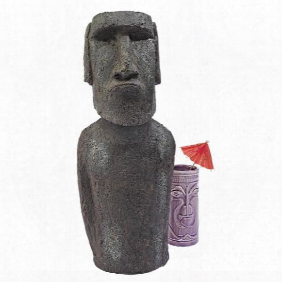 Easter Island Ahu Akivi Moai Monolith Statue: Small