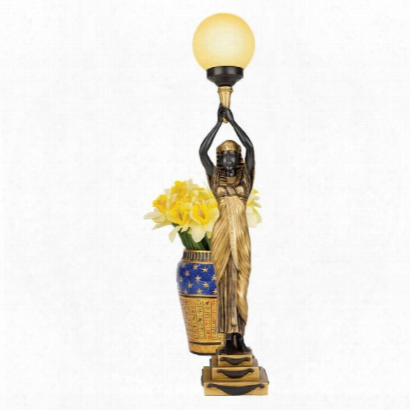 Egyptian Goddess Of The Night Illuminated Statue