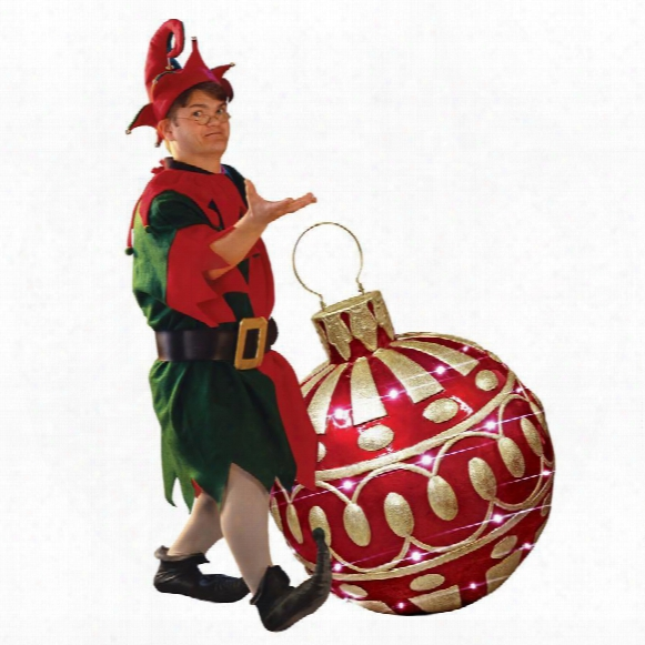 Gargantuan Illuminated Holiday Ornament