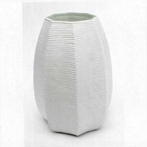 """Glacier Peak 9"""" Glass Vase"""