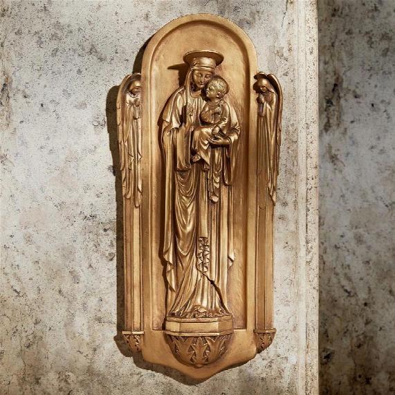 Il Virgin Benedetto Di Turin Wall Sculpture
