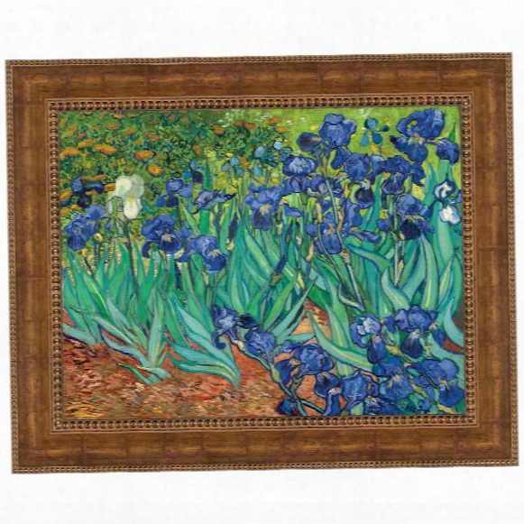 Irises, 1889: Canvas Replica Painting: Grande