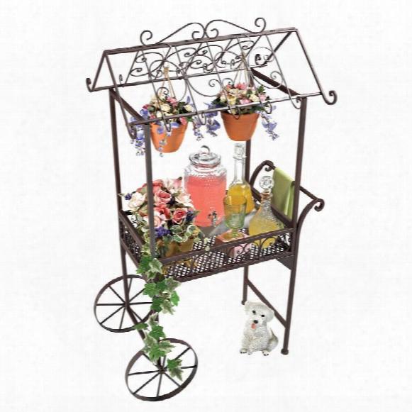 """Jardin à La Française"""" Flower Pushcart"""