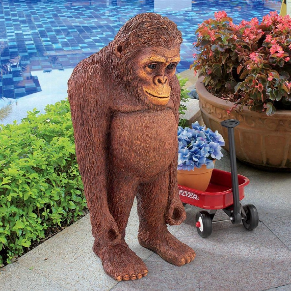 "Java, The Bashful Orangutan"" Statue"