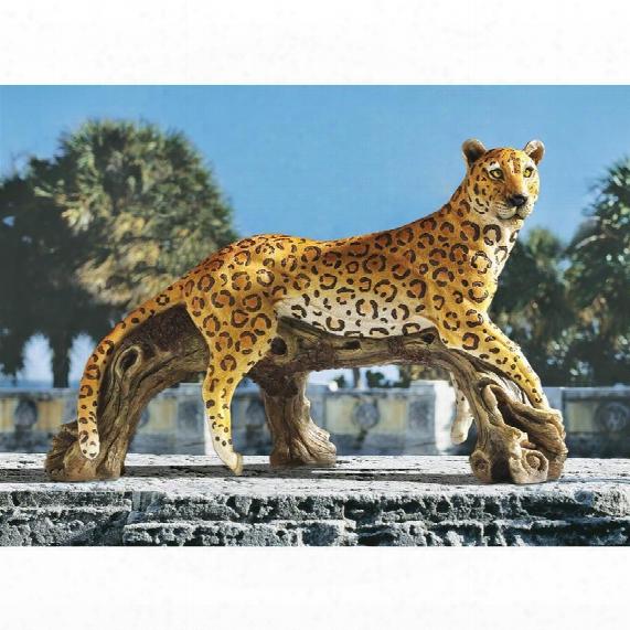 """Leopard's Kingdom"""" Garden Statue"""