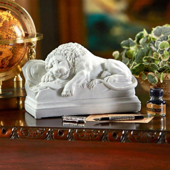 Lion Of Lucerne (1820-1821), Bonded Marble Resin Statue