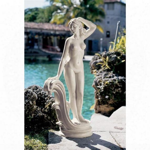 Mademoiselle Modele Art Deco Statue: Large