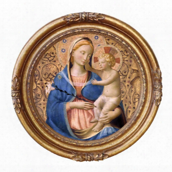 Madonna Of Humility, 1440: Canvas Replica Painting: Medium