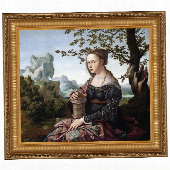 Mary Magdalene, 1530: Canvas Replica Painting: Grande