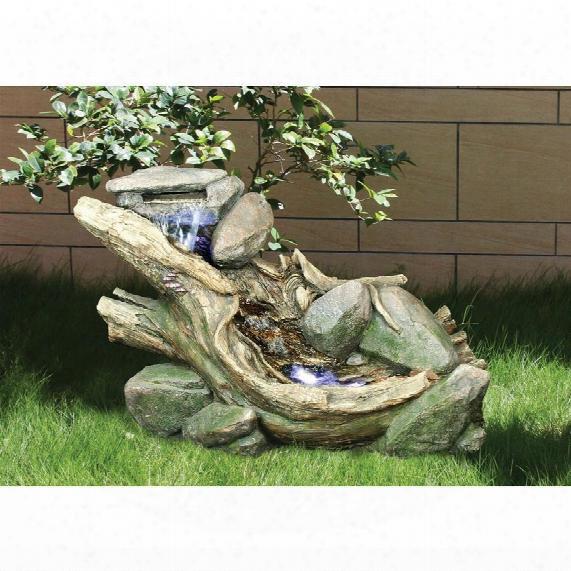 Misty Trails Garden Fountain Sculpture