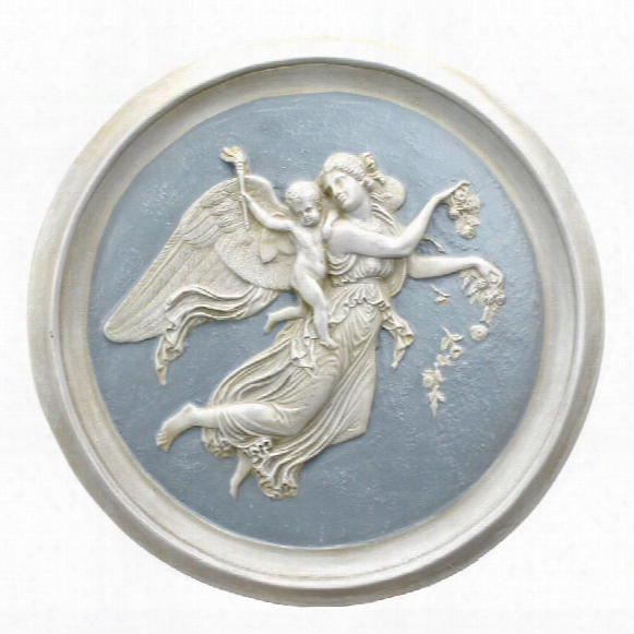 Morning Angel Roundel Wall Plaques (1815) By Artist Bertel Thorvaldsen (1768-1844)