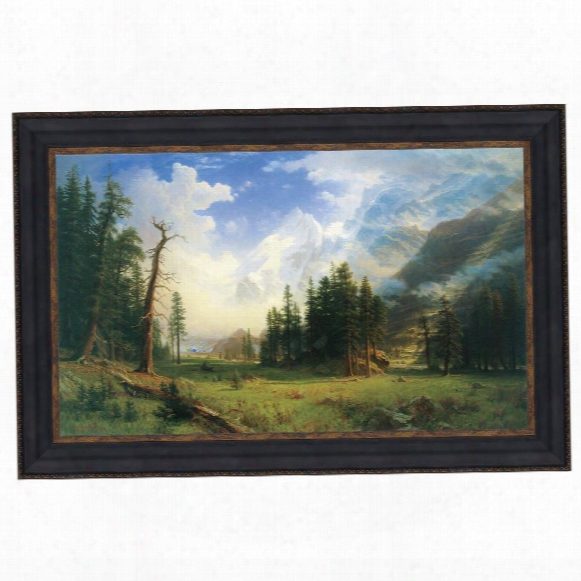 Mountain Landscape, 1895: Canvas Replica Painting: Grande