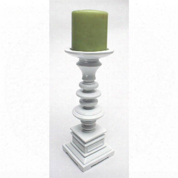 "Nina 10"" Hand-crafted Candleholder"