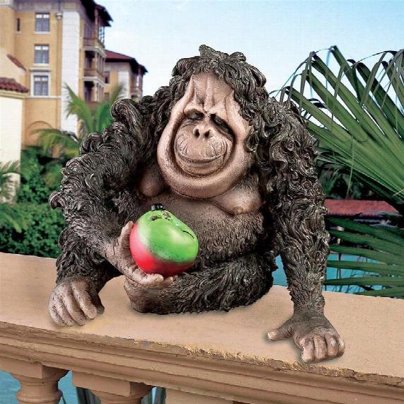 Oswald The Baby Orangutan Statue