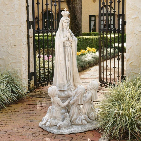 Our Lady Of Fatima Grand Scale Sculpture