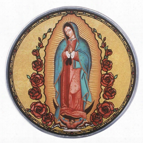 Our Lady Of Guadalupe Art Glass