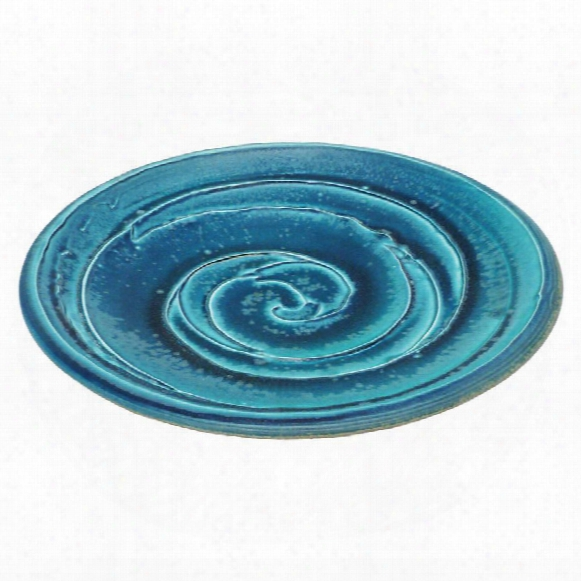 """Pana Swirl 10""""ceramic Plate"""