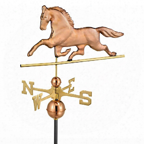 Patchen Horse Full-size Copper Weathervane