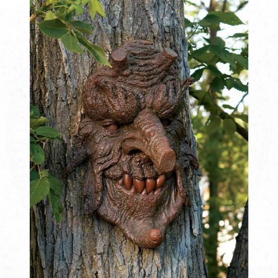 Poison Oak Greenman Tree Sculpture