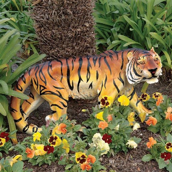Power And Grace Sumatran Tiger Sculpture