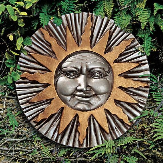 Rising Summer Sun Wall Sculpture