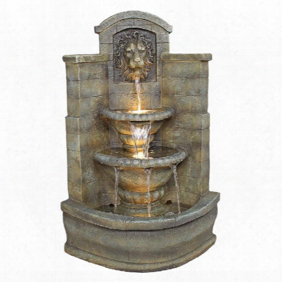 Saint Remy Lion Corner Fountain