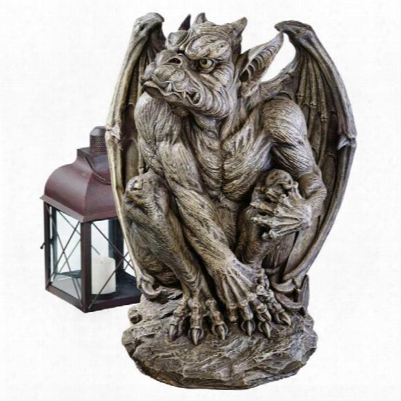 Silas The Gargoyle Sentry Statue: Large